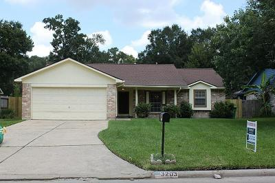 Kingwood Single Family Home For Sale: 3203 Laurel Fork Drive