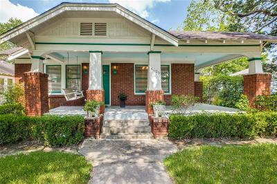 Houston Single Family Home Option Pending: 4009 Norhill Boulevard