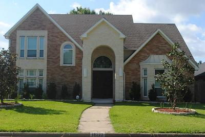 Houston TX Single Family Home For Sale: $330,000