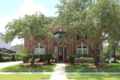 Manvel Single Family Home For Sale: 2602 Misty Grove Drive