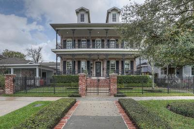 Houston Single Family Home For Sale: 1618 Arlington Street