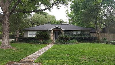 Bellaire Single Family Home For Sale: 819 Jaquet Drive