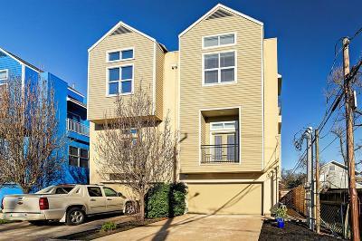 Houston Condo/Townhouse For Sale: 2360 Arlington Street