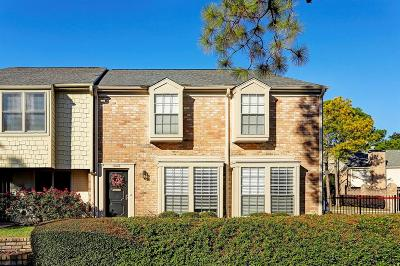 Houston Condo/Townhouse For Sale: 10242 Briar Forest Drive #23/1