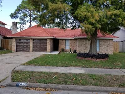 Pasadena Single Family Home For Sale: 4511 Yosemite Drive