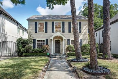 West University Place Single Family Home For Sale: 2618 Arbuckle Street