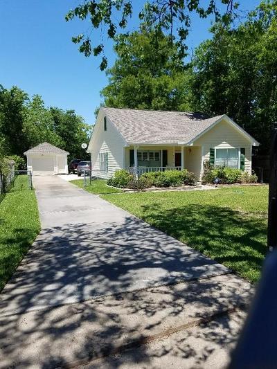 Houston Single Family Home For Sale: 4129 Crane Street