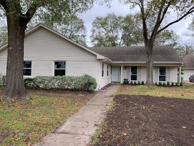 Houston TX Single Family Home For Sale: $599,999