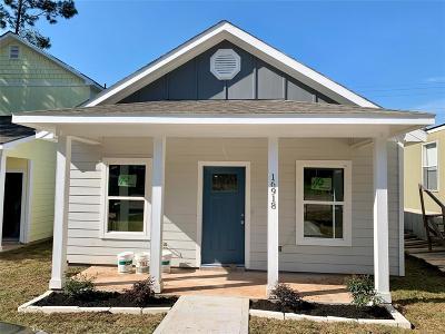 Montgomery Single Family Home For Sale: 16918 W Alderson