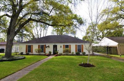 Houston Single Family Home For Sale: 5755 Willowbend Boulevard