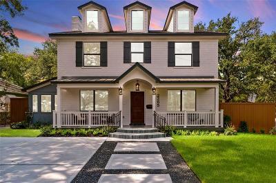 Houston TX Single Family Home For Sale: $1,195,000