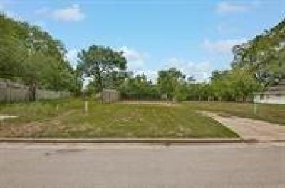 Bellaire Residential Lots & Land For Sale: 4309 Lafayette Street