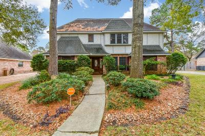 Conroe, Houston, Montgomery, Pearland, Spring, The Woodlands, Willis Single Family Home For Sale: 8223 Forest Ridge Road