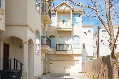 Houston Single Family Home For Sale: 5206 Petty Street #B