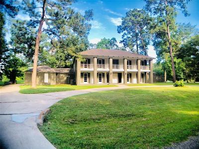 Conroe Single Family Home For Sale: 483 Brandon Road
