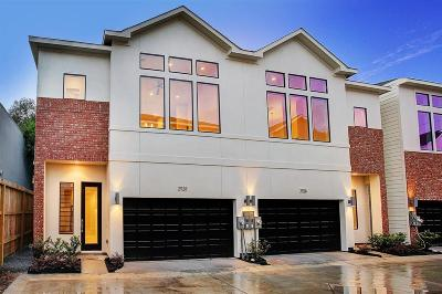 Houston Condo/Townhouse For Sale: 5209 Allen Street #A