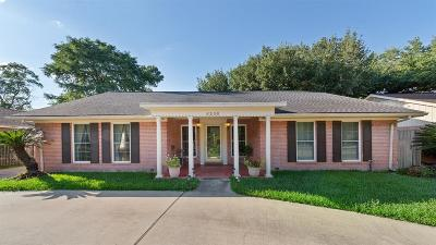Houston Single Family Home For Sale: 6230 San Felipe Street