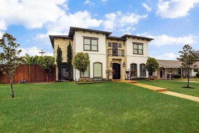 Houston TX Single Family Home For Sale: $1,100,000