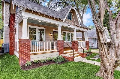 Houston Single Family Home For Sale: 908 Tabor Street