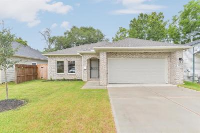 Harris County Single Family Home For Sale: 4513 Bricker Street
