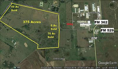 Harris County, Waller County, Grimes County, Fort Bend County, Washington County, Montgomery County Farm & Ranch For Sale: 34445 Wilson Road