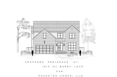 Single Family Home For Sale: 1914 Du Barry Lane