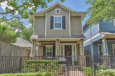 Houston Single Family Home For Sale: 616 W 21st Street