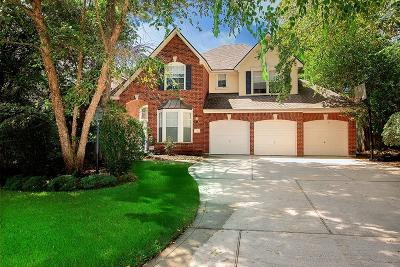 The Woodlands Single Family Home For Sale: 7 N Plum Crest Circle