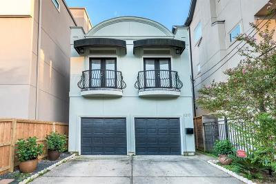 Houston Single Family Home For Sale: 1217 Summer Street