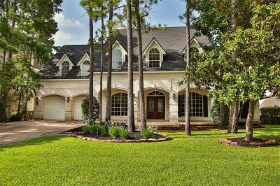 The Woodlands Single Family Home For Sale: 154 E Capstone Circle
