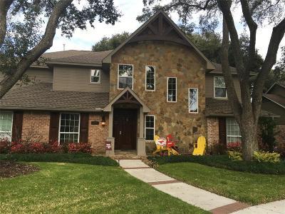 Houston Single Family Home For Sale: 12454 Kimberley Lane