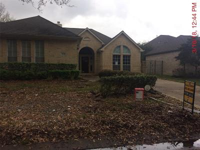 Katy Single Family Home For Sale: 4106 Clubhollow