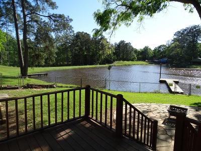 Conroe Single Family Home For Sale: 11318 S Lake Shore Drive