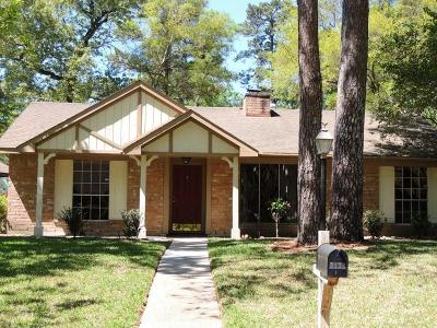 Kingwood Single Family Home For Sale: 2138 Whispering Trails Drive