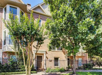 Houston Condo/Townhouse For Sale: 1702 Dennis Street