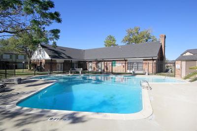 Houston Condo/Townhouse For Sale: 6430 Creekbend Drive #15