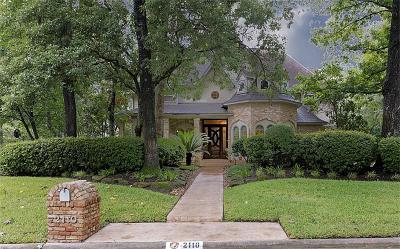 Kingwood Single Family Home For Sale: 2110 Pleasant Creek