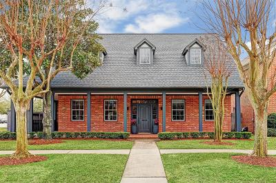 West University Single Family Home For Sale: 4101 Albans Road