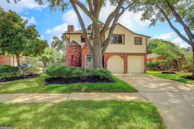 Houston Single Family Home For Sale: 10326 Brickyard Court