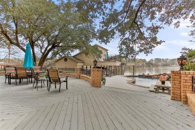 Conroe Single Family Home For Sale: 136 Lakeside Drive