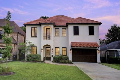 Houston TX Single Family Home For Sale: $949,000