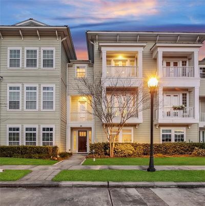 The Woodlands Condo/Townhouse For Sale: 198 W Breezy Way