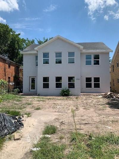 Houston Single Family Home For Sale: 2709 Cleburne Street