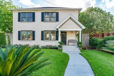 Houston Single Family Home For Sale: 2320 Driscoll Street