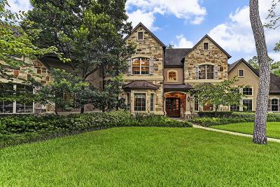 Houston TX Single Family Home For Sale: $2,950,000