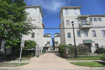 Houston Condo/Townhouse For Sale: 2203 Austin Street