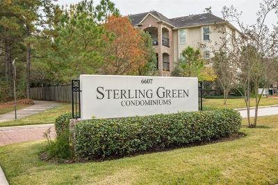 Spring Condo/Townhouse For Sale: 6607 Lake Woodlands Drive #221