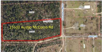 Montgomery Residential Lots & Land For Sale: 13601 Austin McComb