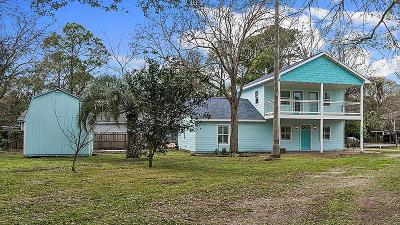 Bacliff Single Family Home For Sale: 5202 W Bayshore Drive