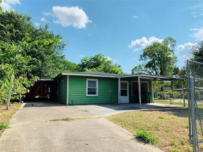 Houston Single Family Home For Sale: 4802 Burma Road